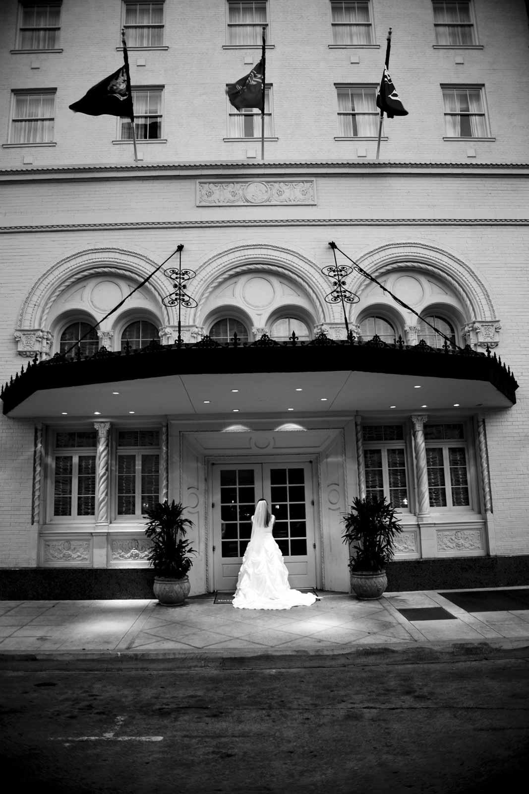 Bride at Hilton Baton Rouge