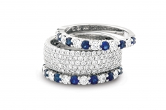 stackedsapphirerings